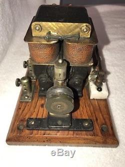 Rare Bipolar Motor Edison / Tesla era museum show piece 1890