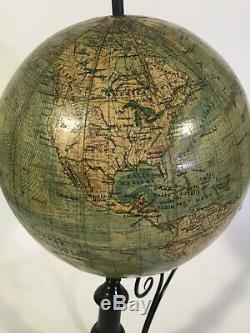 Rare Lunarium Globe Orrery Planetarium Signed J. Felkl