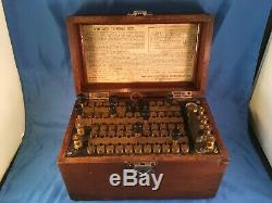 Rare Whitney Electrical Instrument Testing Set Resistance Dated 1907