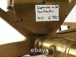 Rare graphometer, Pouvillion, Paris around 1840, checked by an expert