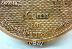 Rarest & Unique 1880 Antique Weston For Elliot Brs. London Ammeter Galvanometer