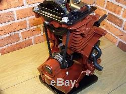 Sectioned, Cut away Engine 4 stroke, Stationary Engine, Display Engine Mancave