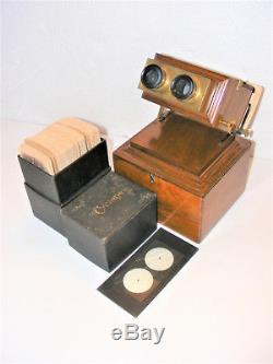 Stereoscopic Viewer By Smith, Beck & Beck Of London Plus 80 + Boer War Views