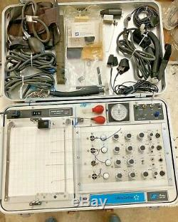 Stoelting Ultrascribe Polygraph Lie Detector Antique Vintage with accessories