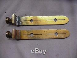 Surveor's Compass Sights or Vanes Surveying Brass Vintage