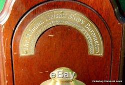 The Admiral Nelson Gimbled Vintage Ships Marine Stick Barometer