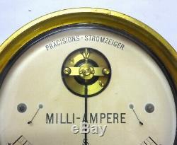 Ultra Rare & Large Siemens & Halske Antique 1910 Precision Ammeter Galvanometer