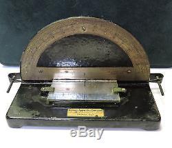 Unique Scarce Antique Chicago Apparatus Company Angle Of Reflection Device