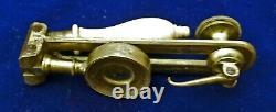 VERY NICE Botanist Naturalist Flea Glass Pocket Field Folding Microscope c1750