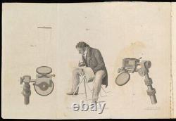 VERY RARE ANTIQUE CAMERA LUCIDA c1820. William Hyde Wollaston