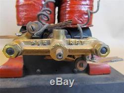 Very Rare Antique Perret Museum Quality Bipolar Electric Motor Engine