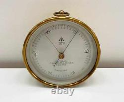 Victorian Met Office Issued Aneroid Barometer By J Hicks Of London