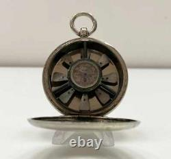 Victorian Pocket Watch Birams Anemometer By Wood Of Liverpool