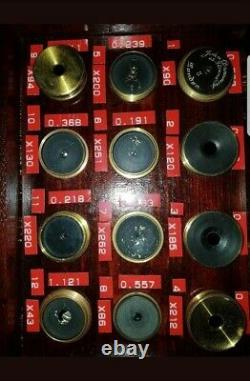 Victorian RAS Eyepieces c1875 Brass