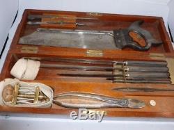 Victorian Surgeons Amputation Set