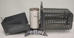 Vintage 1960's Thermo-Hygrograph Rototherm GLUCK Clock Barograph & Recorder-