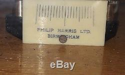 Vintage Antique Philip Harris Laboratory Scales With An Oak Frame & Glass Case