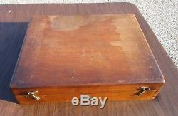 Vintage Antique Rare KEUFFEL & ESSER Integraph With Original Wood Case