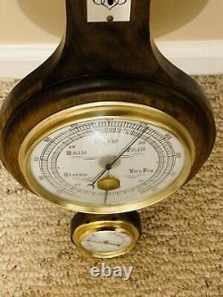 Vintage Antique Whitehall Banjo Style Thermometer, Barometer, Hygrometer- RARE