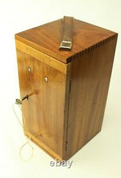 Vintage Beck of London Model 10 Microscope in Mahogany Case 5422