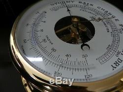 Vintage Schatz Royal Mariner Marine Ships Boat Barometer & Thermometer