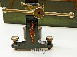 Vintage Scleroscope Metal Hardness Testing Device In Wooden Box Tb099