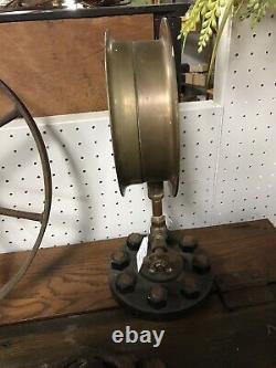 Vintage Shaeffer Budenberg Steam Gauge With Stand 15-10064