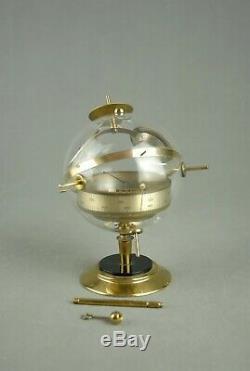 Vintage Sputnik Table / Wall Weather Station Barometer Thermometer Art Deco 60s
