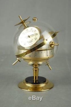 Vintage Sputnik Weather Station Barometer Thermometer Art Deco Germany 50s 60s