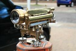 Vintage, Surveyors Level Cooke Troughton and Simms Antique Theodolite Transit