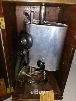 Vintage Tag Twin Ebulliometer Wine Liquid Boiling Point Meter