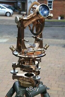 Vintage, Theodolite, Surveyors Stanley Transit, Surveying Instrument, Antique