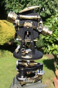 Vintage, Theodolite, Surveyors Watts Transit, Surveying Instrument, Antique