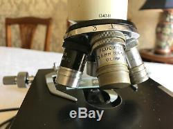 Vintage Watson Bactil Technical Binocular Microscope, Broad-Arrow Marks c1964