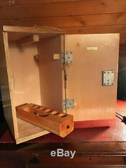 Vintage Watson Service II Microscope CTS Mechanical Stage Upgrade, Cased c1952