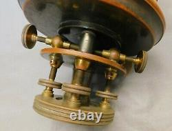 W. & L. E. Gurley Transit Pre 1880 ANTIQUE Architects Surveying Instrument