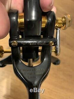 W Watson & Son Edinburgh Student H Microscope