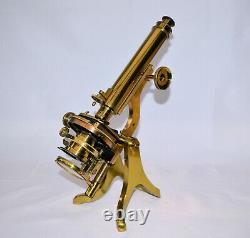 Walter Waters Reeves (R. M. S.) Henry Crouch microscope with Beck binocular