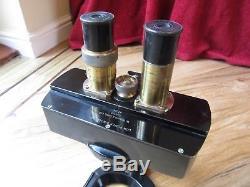 Watson & Sons Low Power Binocular Microscope No. 57016