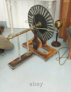 Wimshurst Ramsden antique electrostatic machine Ruhmkorff instrument physique