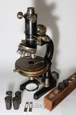 Winkel Zeiss Gottingen Stand IV M Polarizing Petrographic Microscope