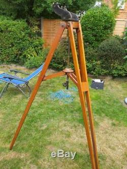 Wray 4 F15 Brass Broadhurst Clarkson refractor and azimuth mount